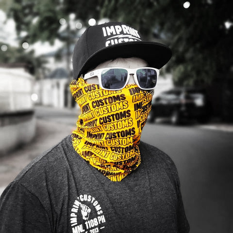 Imprint Customs - Headgear Black/Yellow