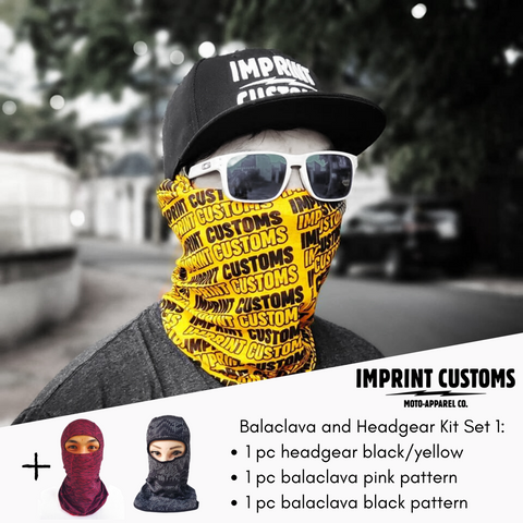 Imprint Customs - Balaclava Kit 1