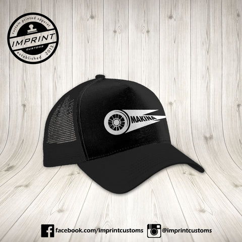 Makina - BLACK Trucker Cap