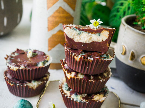 Mint Mocha Coconut Butter Cups