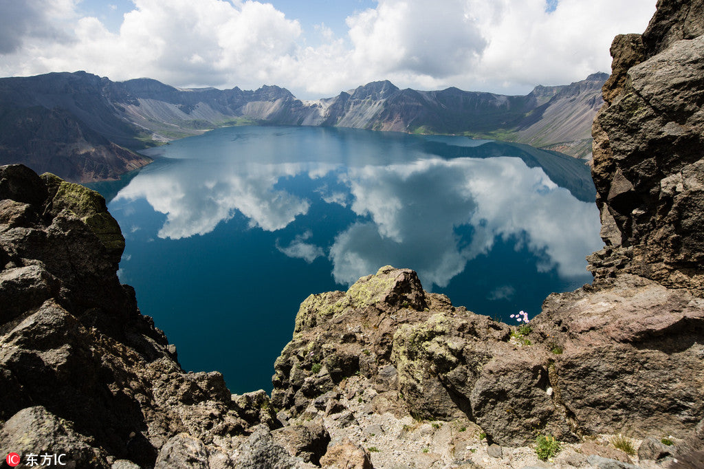 Lake Changbai Shan in China