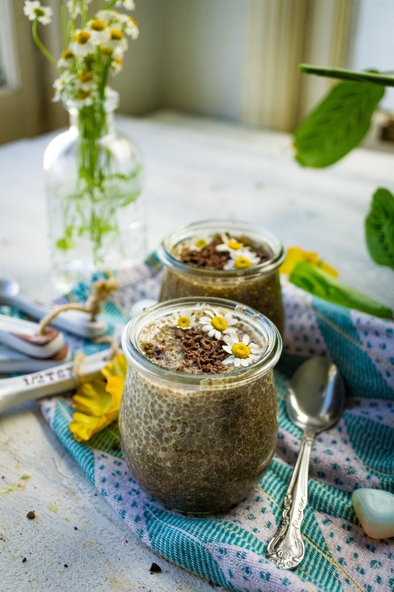 Chia pudding keto recipe