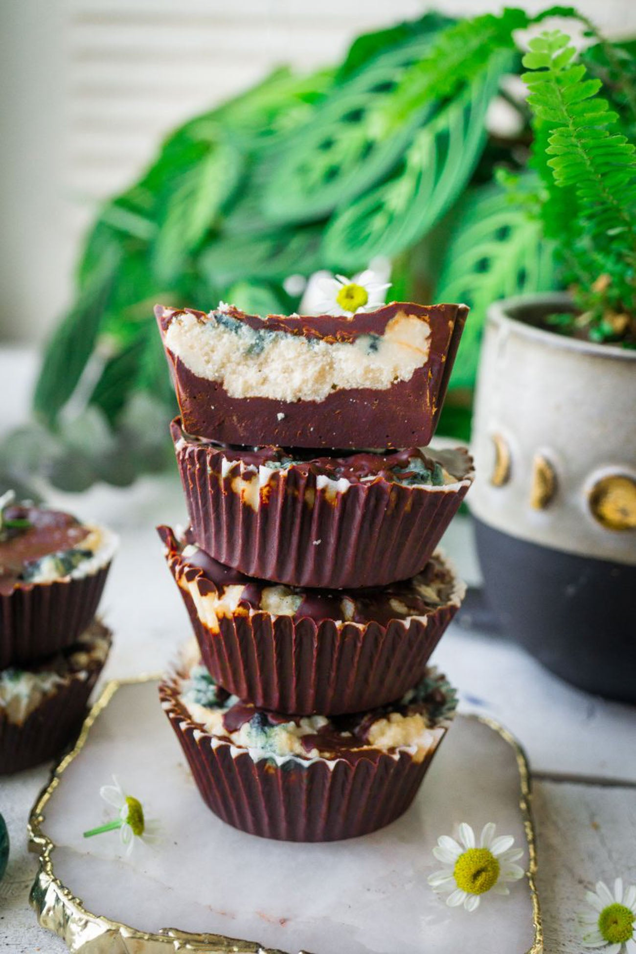Easy Chocolate Coconut Butter Cups