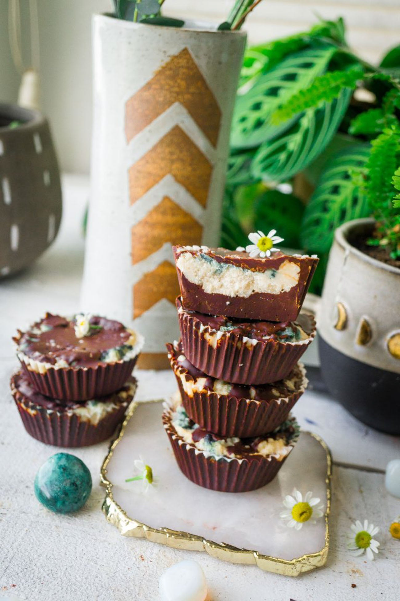 Healthy homemade coconut butter cups