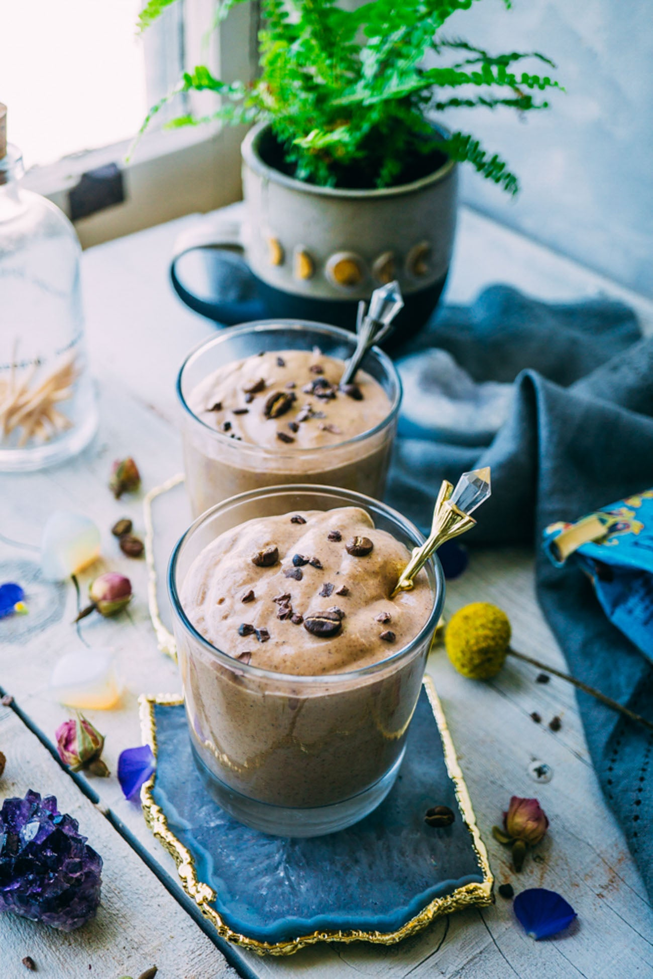 Vegan Mocha Smoothie