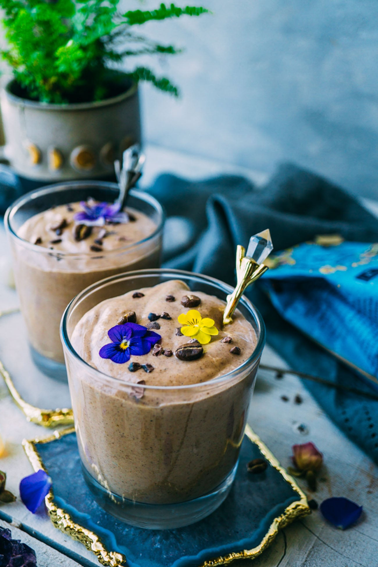 Healthy Mocha Smoothie Recipe