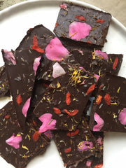 Adaptogens, Chocolate, & Flowers - A few of my favorite things!