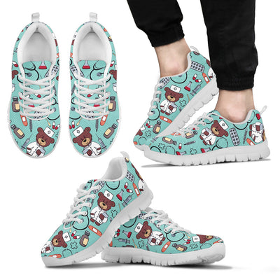 Nurse Sneakers (Nursing Tennis Shoes) for Men. Click this image for more details!