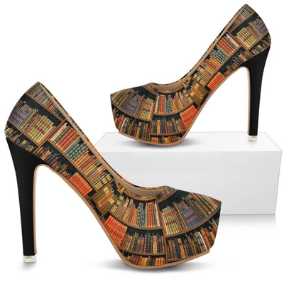 Bookish High Heels for Bibliophiles