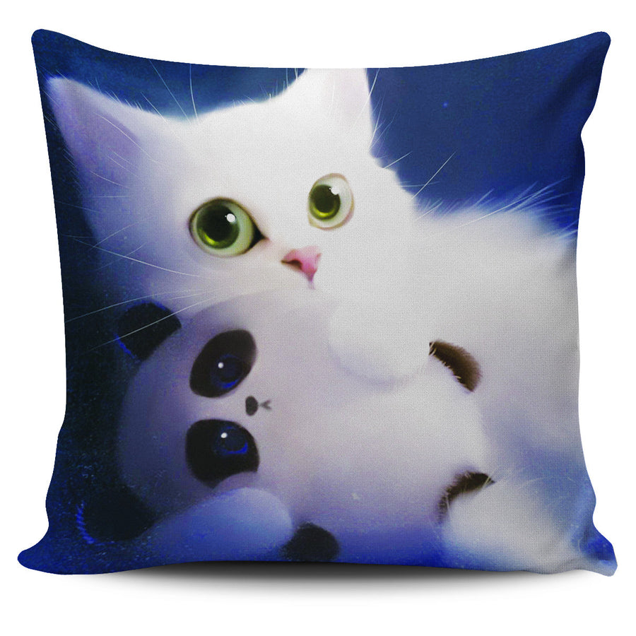Cat Pillow Throw Pillow Scatter Cushion Cover
