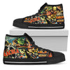 Universal Monsters High-Top Canvas Shoes for Women