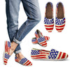 Patriotic American Flag Women's Canvas Casual Shoes