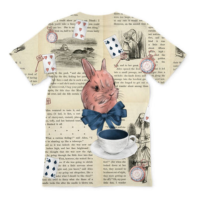Alice in Wonderland T-Shirt (Modern Vintage Style)