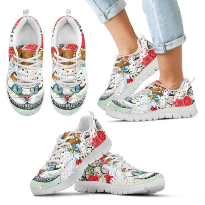 Alice in Wonderland Cheshire Cat Sneakers for Kids. Click the image for more details!