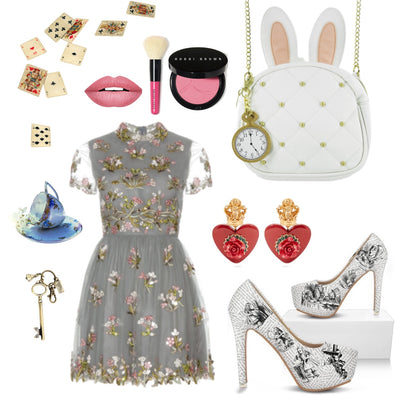 Alice in Wonderland Inspired Outfit (For a date night)