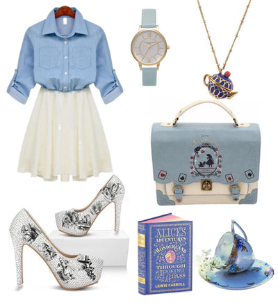 Alice in Wonderland Inspired Outfit (for a casual day out)
