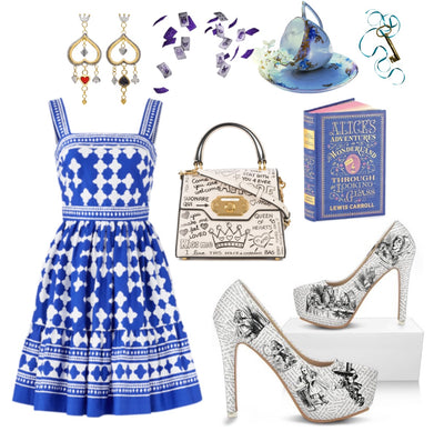 Alice in Wonderland Tea Party Inspired Outfit