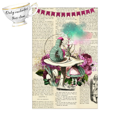 Alice in Wonderland Poster Vintage. Click this image for more!