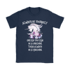Always Be A Unicorn Women's T-Shirt in Navy