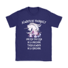 Always Be A Unicorn Women's T-Shirt in Purple