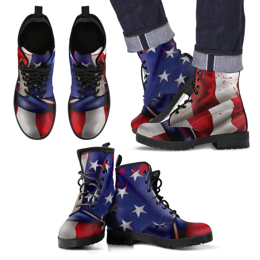 American Flag Boots for Men – Patriotic Boots