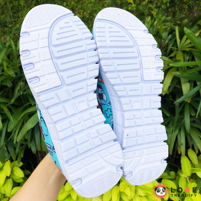 Nurse Sneakers (Nursing Tennis Shoes) for Women - Turquoise
