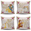 Beauty and the Beast Cushion Covers