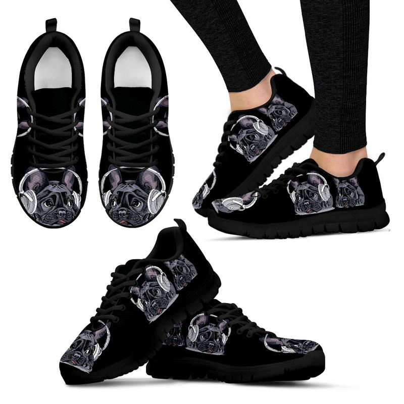 Are you a bulldog lover? Or, specifically, are you a fur mama to a french bulldog? Then this pair of French Bulldog sneakers are made just for you! These are comfortable, vouched by our customers who keep returning for more! Designed for versatility, match these black-and-white sneakers with almost any outfit and you're good to go!