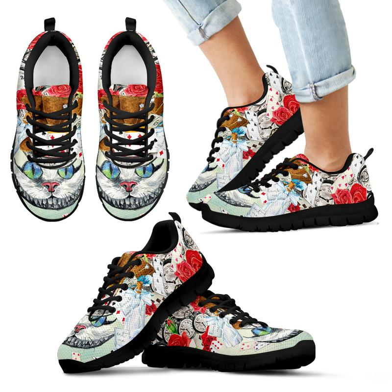 Alice in Wonderland Cheshire Cat Sneakers for Kids