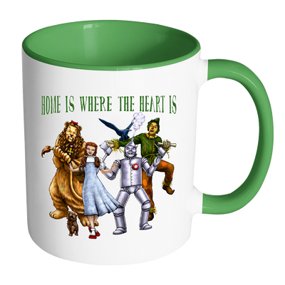 """Home is where the heart is"" Wizard of Oz Ceramic Mug"