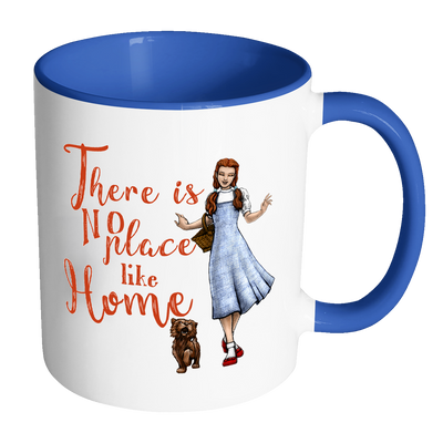"""There is no place like home"" Ceramic Mug (For The Wizard of Oz Fans)"