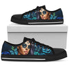 Day of the Dead Calavera Sugar Skull Girl Low-Top Shoes
