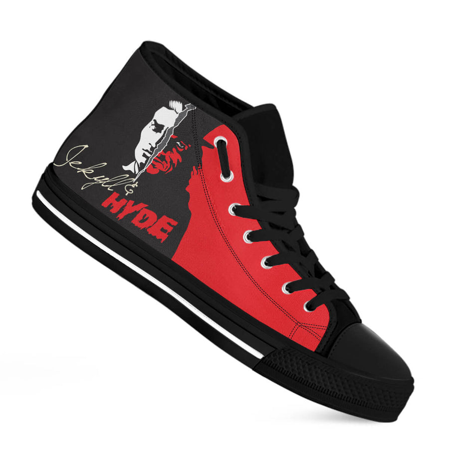 Jekyll & Hyde High-Top Canvas Shoes for Men