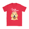 Golden Retriever Fur Mama T-Shirt for Women. Click this image for more details!