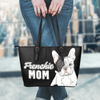 Frenchie Mom Eco-Leather Tote Bag (French Bulldog). Click this image for more details!
