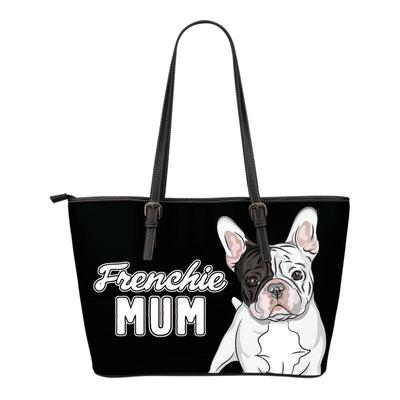 Frenchie Mum Eco-Leather Tote Bag (French Bulldog). Click this image for more details!