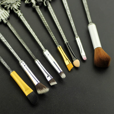 Game of Thrones Makeup Brushes in Antique Silver