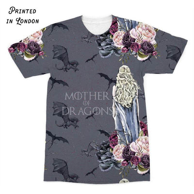 Game of Thrones Inspired - Mother of Dragons T-Shirt  (All Over Print). Click this image for more details!
