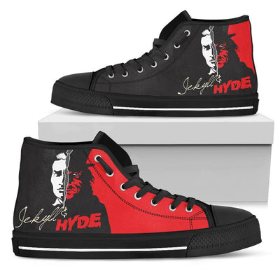Jekyll & Hyde High-Top Canvas Shoes for Women