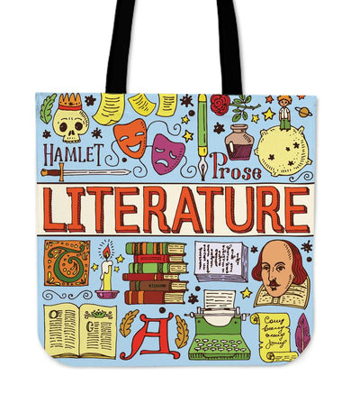 Literary Tote Bags for Literature Lovers. Click this image for more details!