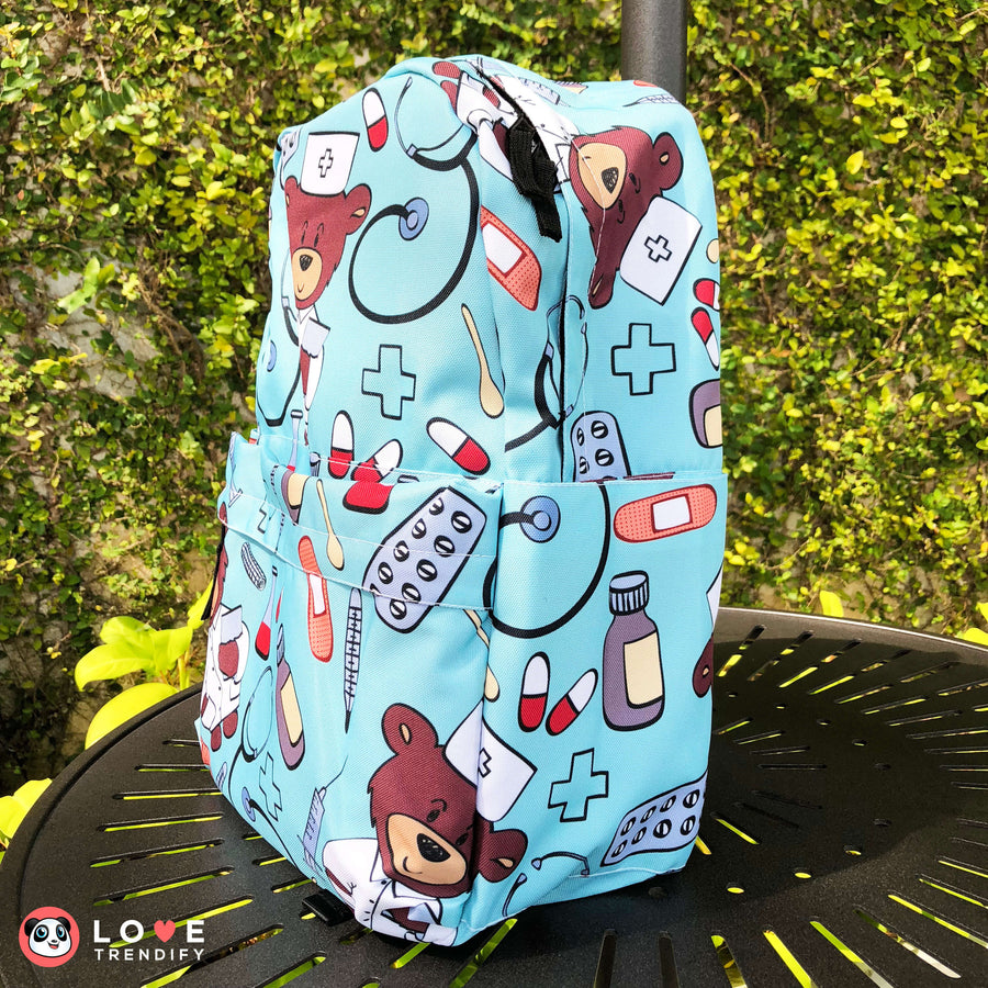 Nurse Backpack - Turquoise