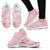 Nurse Sneakers with Caduceus for Women - Pink