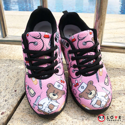 Nurse Sneakers for Pediatrics (Nursing Tennis Shoes for Women). Click this image for more details!