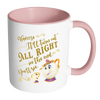"""It'll turn out all right in the end. You'll see"" Personalized Beauty and the Beast Mrs. Potts & Chip Coffee/Tea Mug (Add Your Name)"