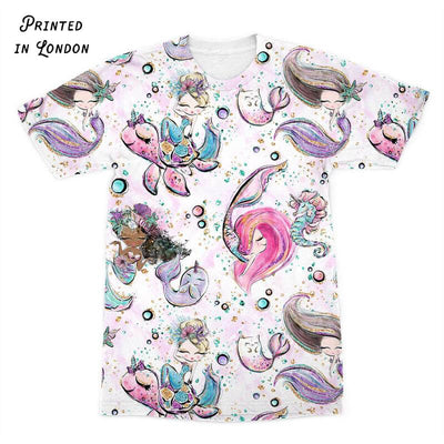 Pretty Little Mermaids T-Shirt. Click this image for more details!