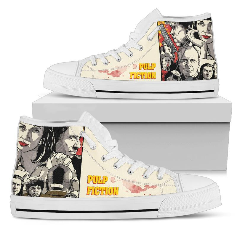 939299b16dbfd9 Pulp Fiction High-Top Shoes for Men