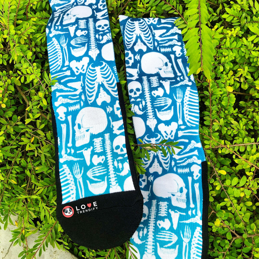 X-Ray Film Radiologist Ombré Crew Socks with Dynamic Arch Compression. Click this image for more details!
