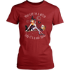 """You Say I'm A Witch Like It's Bad Thing"" Witch T-Shirt (Red Women's Crew Neck)"
