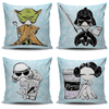 Star Wars Inspired Throw Pillow Cushion Cover Set