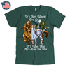 The Wizard of Oz American Apparel Mens T-Shirt in Forest Green